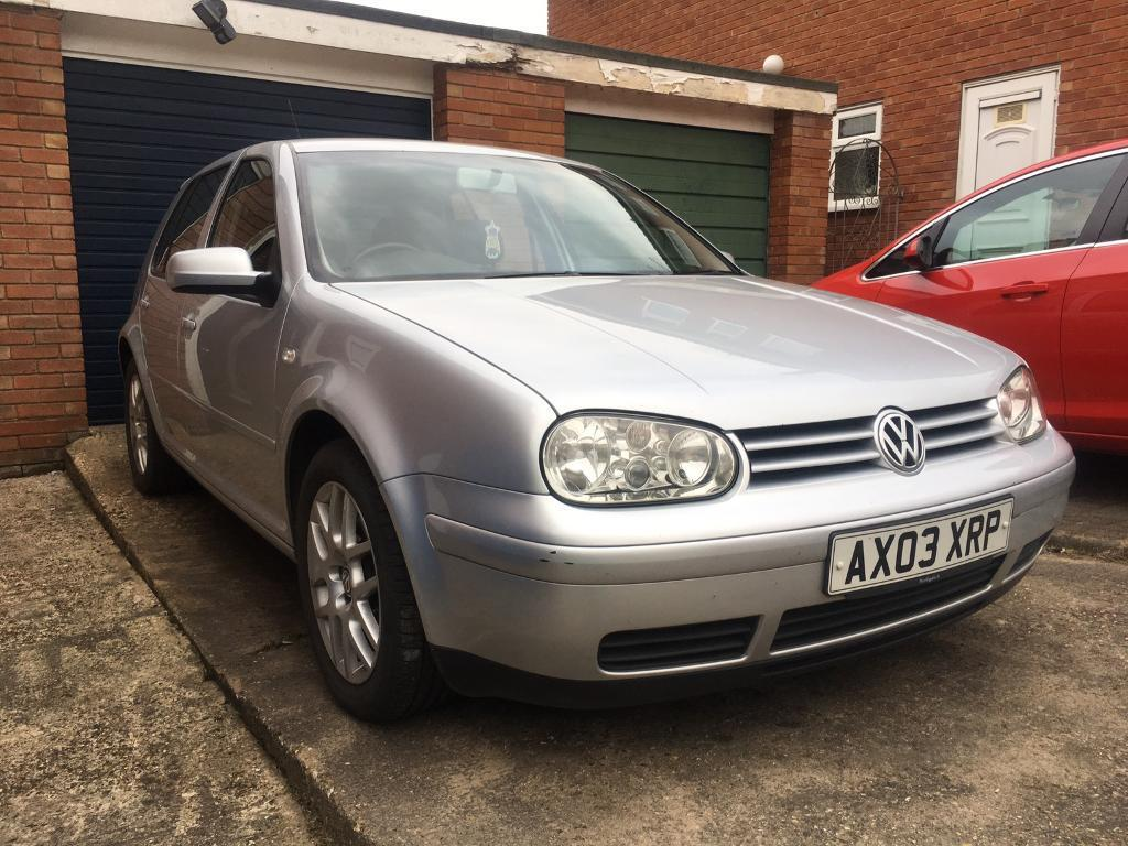 2003 VW Golf 1.9TDI 130PD Manual