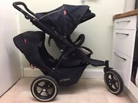 Phil & Ted Navigator double buggy for sale from smoke and pet free home. Used but good condition.