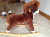 Children's kids rocking horse