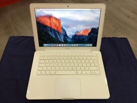 """MACBOOK PRO 13"""" 2.4GHZ CORE 2 DUO-4GB RAM 320HDD-2010-COLLECTION FROM E17 9AP-NO OFFER-L916"""