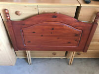 Wooden Headboard - for Single Bed