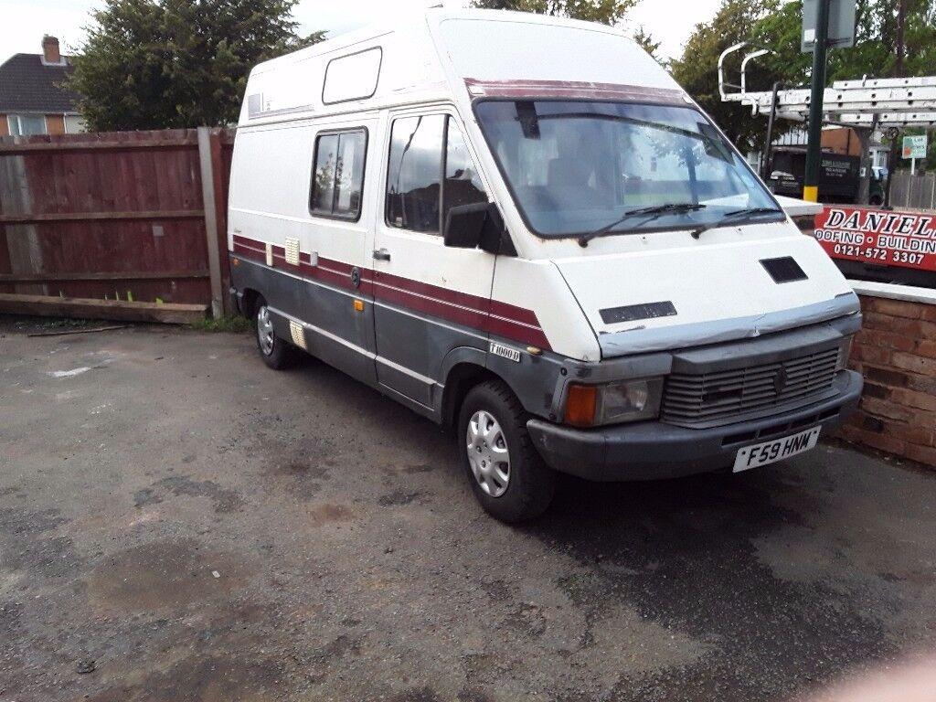 Renault trafic campervan diesel spares or repairs