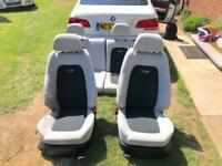 Skoda Fabia VRS seats full set