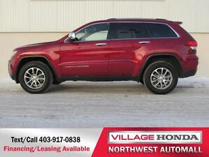 2015 Jeep Grand Cherokee Limited 4WD | Remote Starter |
