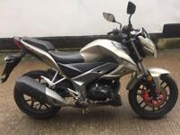 FULLY WORKING 2014 Kymco CK-1 125cc learner motorcycle 125 cc with 1 years MOT.