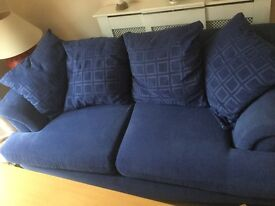 Comfy two seater sofa