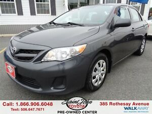 2011 Toyota Corolla CE WITH Air and Cruise $99.70 BI WEEKLY!!!
