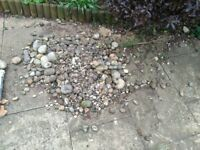 Pebble water feature