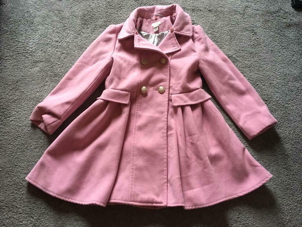0e786cd04 Moonsoon girls coat Age 7-8 years old Pink colour V