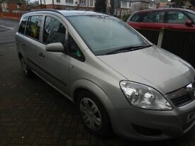 vauxhall zafira for sale or swap