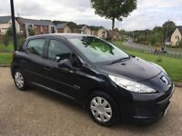 Peugeot 207 1.6 HDi S 5dr (a/c) 2010 60 Reg Diesel 2 Keys 2 Owners Service History