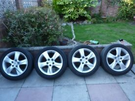 HONDA ACCORD MK8 2008-2015 17 Inch; ALLOYS & TYRE 225/50/R17