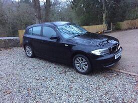 BMW 116 ES 1.6 Petrol 2008 in black