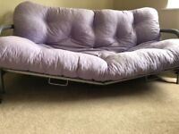Broken Futon, still functions but needs some TLC! Free on collection.