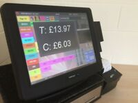 ★ Touchscreen Epos Pos Till from £25 a week for Restaurant, Pub, Bar, Takeaway Or Retail Shop