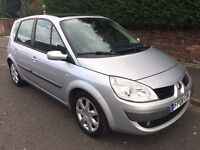 RENAULT MEGANE SCENIC 1.9 DCI ** 08 PLATE ** LOW MILES**ONLY 40,000 **PAN ROOF **