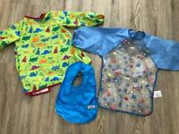 Toddler cover ups / bibs - JoJo / Mothercare / Tommee tippee
