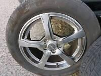 Fox 16 inch alloy wheels