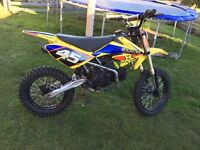 Demon x xlr 160 pit bike