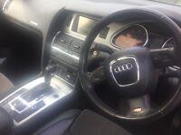 Audi Q7 3.0TDI S Line Multitronic gear box Panoramic sun roof 2 zone climate control Sat Nav