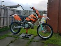 Ktm250exc SWAP FOR VAN ONLY READ THE ADD
