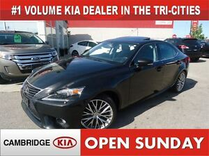 2014 Lexus IS 250 PREMIUM AWD / LEATHER / SUNROOF