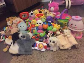 Large infant toy bundle