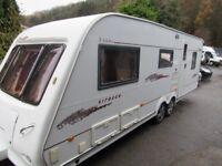 Elddis Crusader Sirocco Twin Axle Double Dinette 5 Berth Touring Caravan 2004