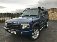2001 Y LANDROVER DISCOVERY 2.5 TD5 S *DIESEL 4x4* - OCTOBER 2018 M.O.T - EXCELLENT EXAMPLE!