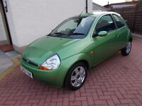* * SOLD * * * FORD KA COLLECTION 1.3, LOW MILEAGE, CHEAP ! ! !