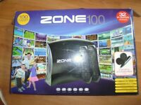 Games Console with 100 Games + 2 Controllers