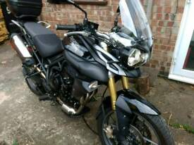 2013 Triumph Tiger abs excellent condition