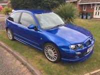 For sale , mg zr 1.8 in trophy blue
