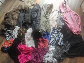 Big Bundle of Women's Clothes, Shoes & More