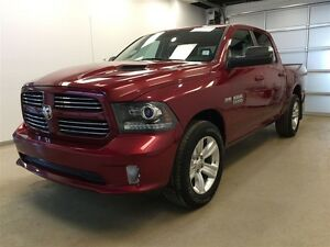 2014 Ram 1500 SPORT Crew - Snnroof Leather Nav!!