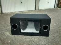 Mint condition double subwoofer 250w