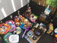 Carboot job lot of bundle and more stuff big box and suitcase