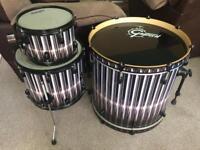 Gretsch Catalina Club drum kit shells.