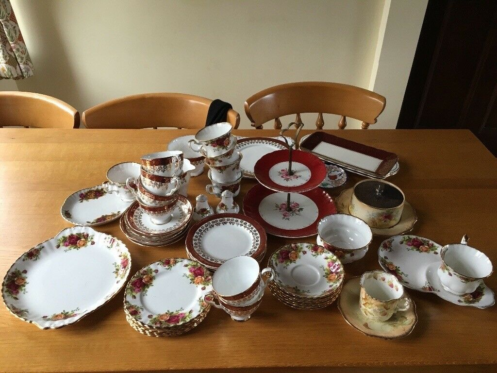 Royal Albert China set- perfect condition