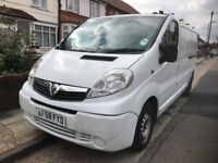 2008 VAUXHALL VIVARO 2900CDTI LWB DIESEL 2.0L PANEL VAN. BRILLIANT DRIVE. 2 KEYS. ROOF RACK. NO VAT.