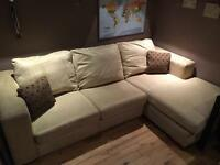 *REDUCED* Corner sofa bed with chaise (from DFS)