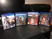 PS4 bundle of games