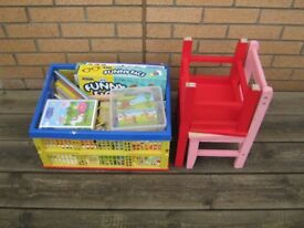 Bumper crate of kids toys suitable ages 1 to 4 yrs