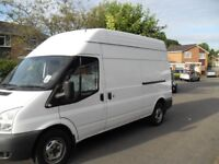 2010 FORD TRANSIT 2.4 TDCI 100 PS LONG WHEEL BASE T 350L HIGH TOP JUST DE FLEETED LONG TERM LEASE