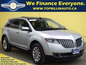 2013 Lincoln MKX Navigation, Leather, Panoramic Sunroof