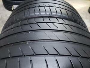 2 summer tires Michelin primacy hp 275/35r19