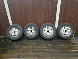 ford transit mark 7 tyres and rims