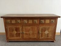 GILLIES INLAID FLAGSTONE SIDEBOARD