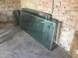 Double glazed units free to collector