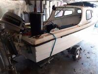 14ft day/cabin boat